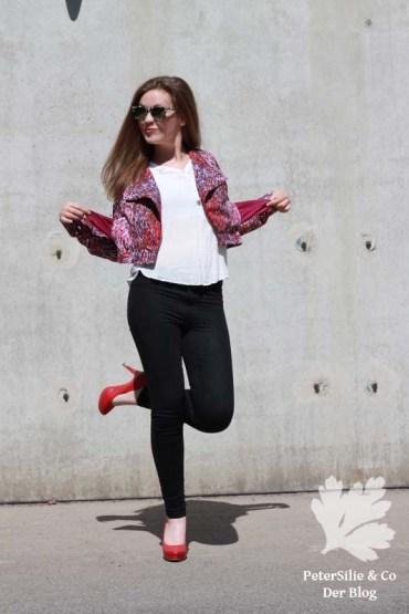 Lupin Deer&Doe Karlotta Pink Jacke