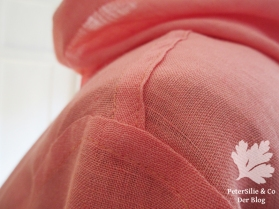 Jacke Burda 10/99 Leinen Karlotta Pink