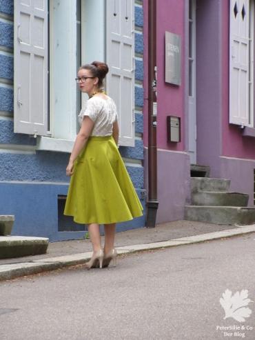 Karlotta Pink Blockprint Vintage nähen Blog Bluse