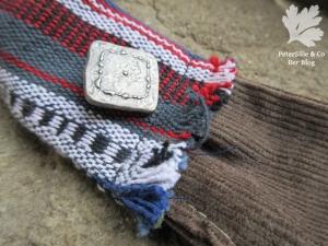 Riemendetail Stofftasche Nepalstoff Karlotta Pink Cord