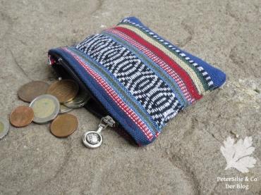 Geldtasche aus Nepalstoff