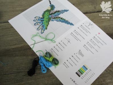 Kolibri Stickset Kreuzstich Rico Design