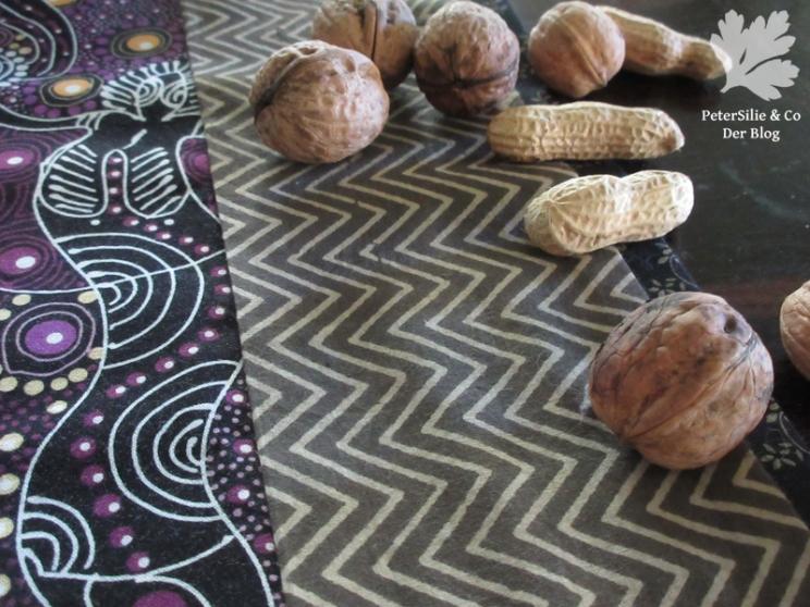 Tischläufer Patchwork Karlotta Pink/Aborigine Stoffe