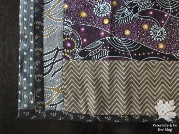 Tischläufer Patchwork Karlotta Pink Aborigine Stoff
