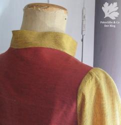Bluse Bernina Inspiration Stoffe Karlotta Pink Handloom/ Aborigine