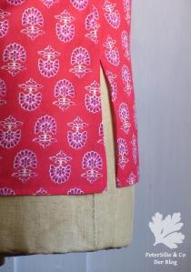 Bluse Blockprint Karlotta Pink