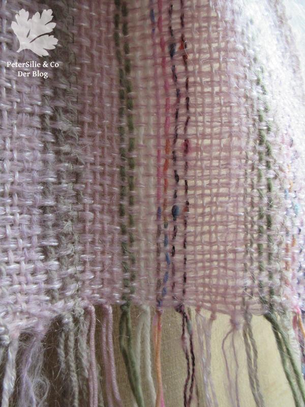gewebter Schal Detail