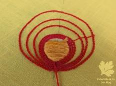 Stickerei Sticken Plattstich Kettstich Blog