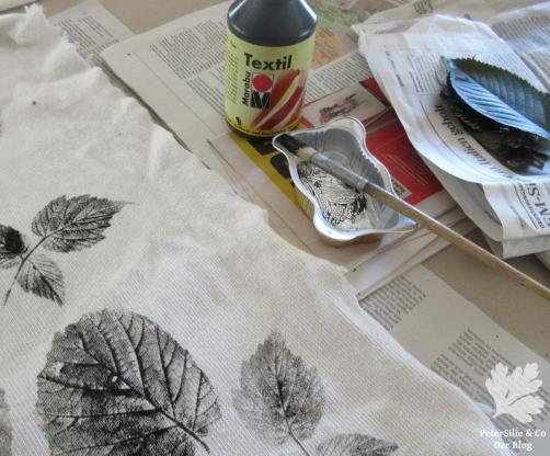 Arbeitsplatz Blätterdruck