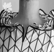 Rüschenbluse Kragen