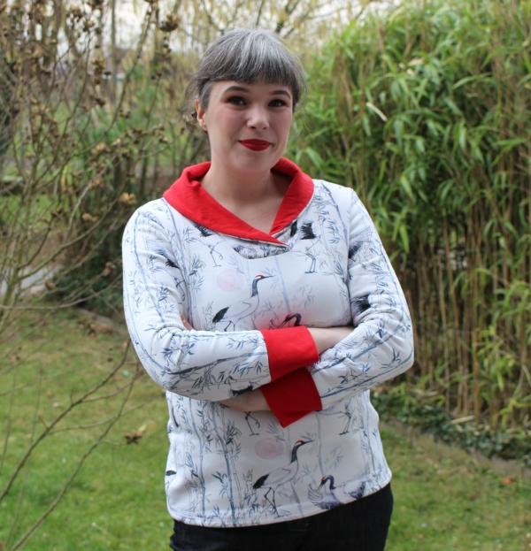 Kranich-Sweatshirt