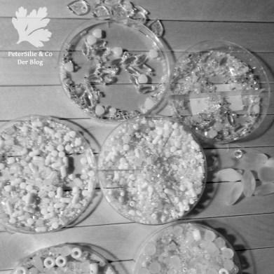 Nadelbrief weiss Schnee sticken Nählob Stickblog Perlen