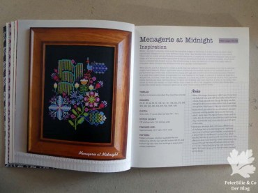 Anna Maria's Needlework Notebook Menagerie at Midnight