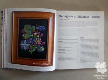 Anna Maria's Needlework Notebook Menagerie at Midnight