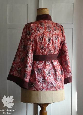 Aborigine Kimono rot p