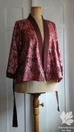 Aborigine Kimono rot p2