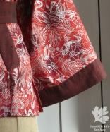 Aborigine Kimono rot p3