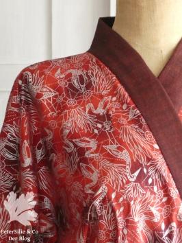 Aborigine Kimono rot p5