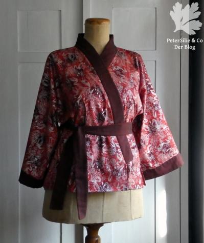 Aborigine Kimono rot p6