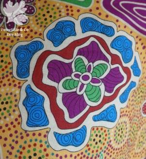 gelbe Aborigine Bluse Burda1