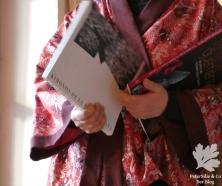 Kimono rot Aborigine2