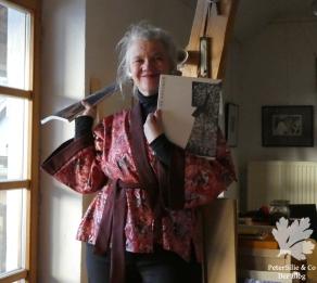 Kimono rot Aborigine3
