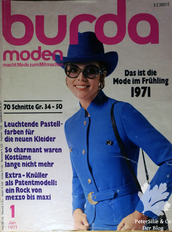 burda moden 1 1971
