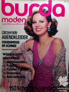 Burda Moden 11/1976 Titelblatt