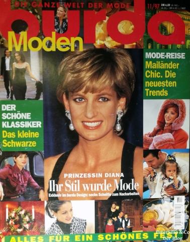 Burda Moden 11 1997 Titelblatt