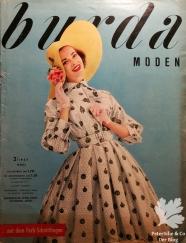 burda moden 3 1957