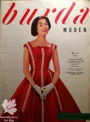burda moden 4 1957