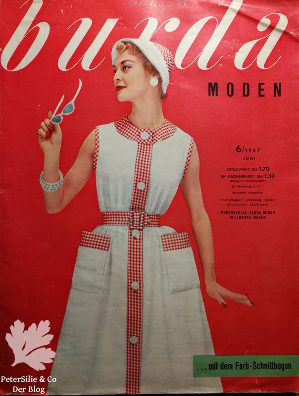 Burda Moden 6 1957 Titelblatt