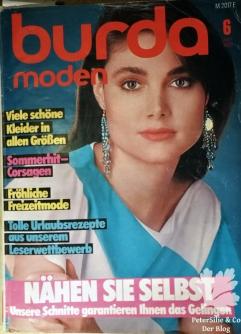 Burda Moden 6 1984 Cover