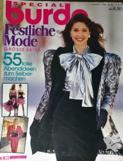 Burda special Festliche Mode Titelblatt