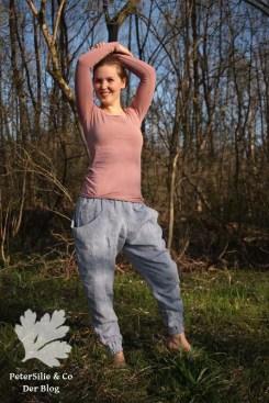 Arenite Pants Sew Liberated Leinen Linen Blau Blue