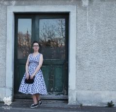 Popover Dress Gertie Sews Jiffy Dresses Buch Rezension Blog Nähen Vintage Kleid DIY