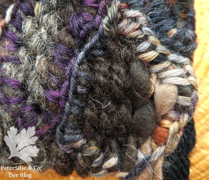 Baumrinde gewebt Detail
