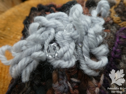 Baumrinde gewebt, Detail