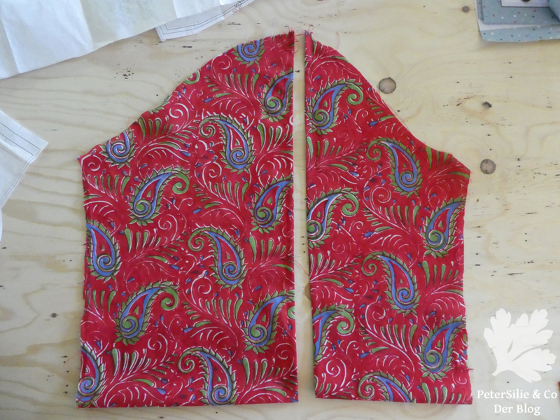 ÄrmelschnittBluse Ella So! Pattern Indischer Blockprint Karlotta Pink