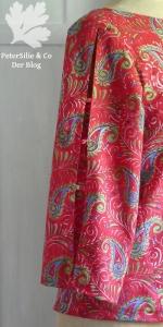 Bluse Ella So! Pattern Indischer Blockprint Karlotta Pink
