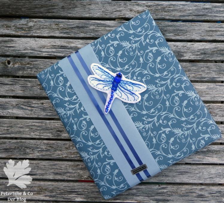 Libelle als Geschenkdeko