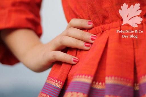 Hilary Top tessuti fabrics Bordüre Karlotta Pink
