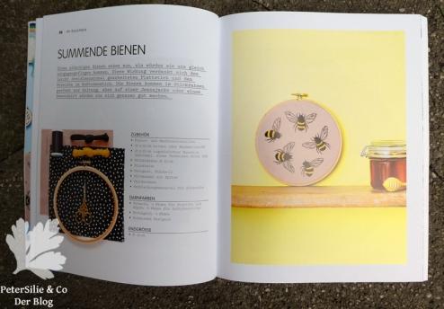 Hoop Art Cristin Morgan Stiebner Bienenprojekt