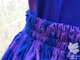 Kleid Lilaelefant afrikanische Batik Karlotta PinkGummizug