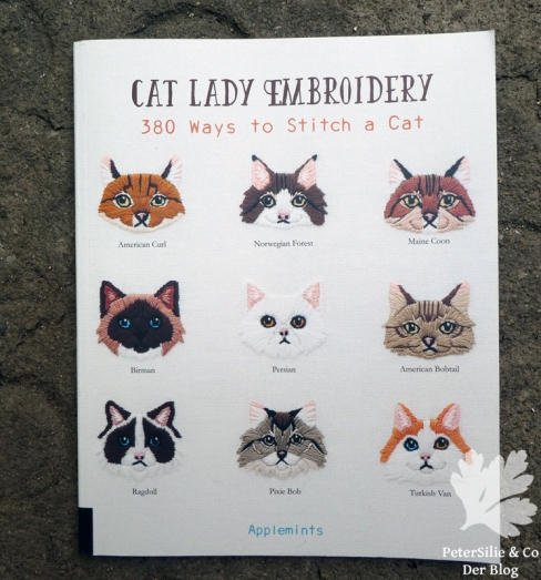 cat embroidery