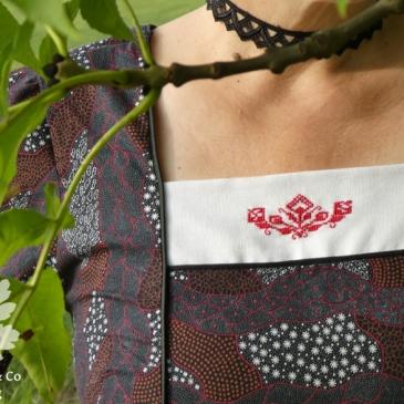 Ella So!Pattern Aborigine Karlotta Pink