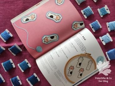Tiny Stitches Buch Irem Yazici Sticken handgestickt Stickerei Käfer Blog Stickblog Nähblog Petersilie&Co