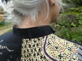 goanna and snake aboriginestoff karlotta pink stiebner verschlüsse