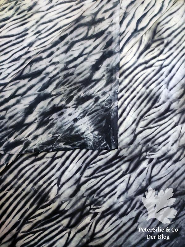 Arashi Shibori, Nähblog, Stoff färben Tutorial Indigo Blog nähen