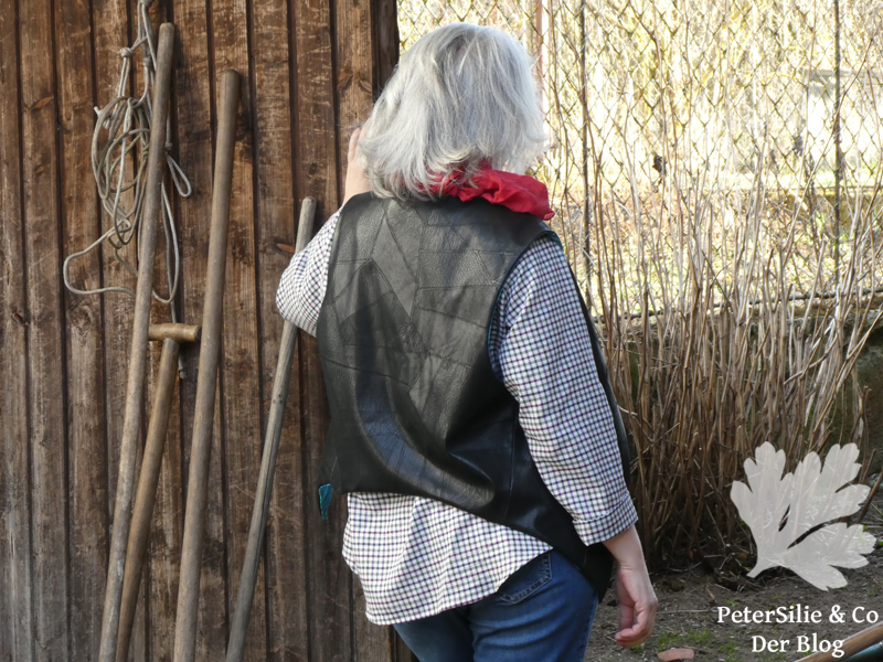 Weste Hemd Skandinavische mode selbst genäht Annabel Benilan Stiebner